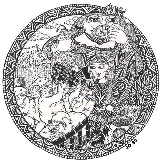 La fille de l'ogresse