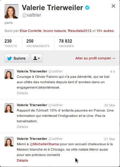 Faut-il museler Valerie Trierweiler?