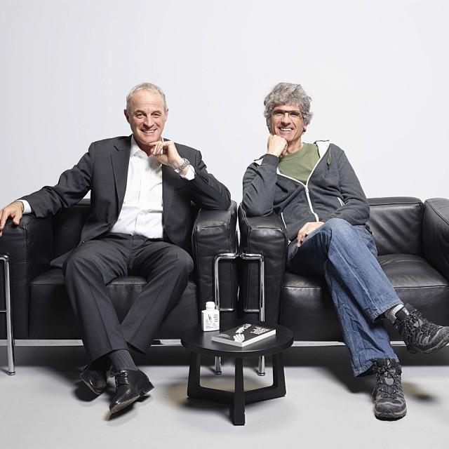 Didier Pittet et Thierry Crouzet