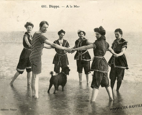 tenues de bains 1900