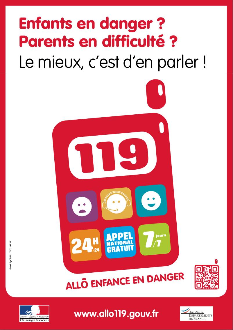Affiche de promotion du 119