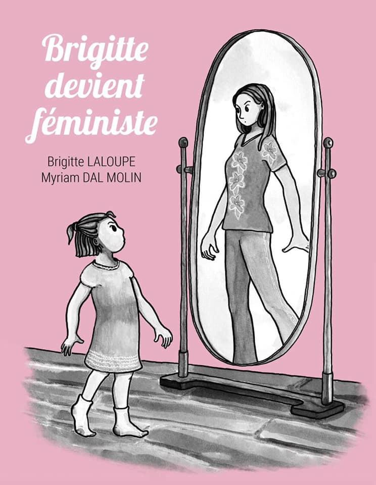 Couverture du livre Brigitte devient féministe