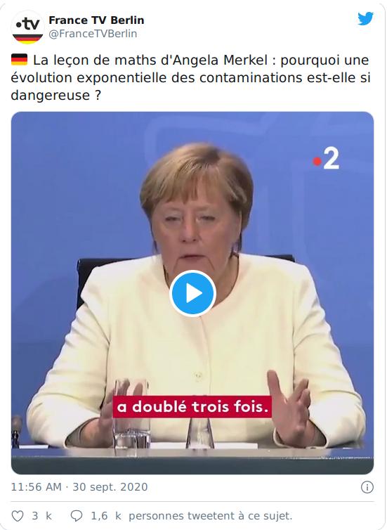 La leçon de maths d'angela Merkel